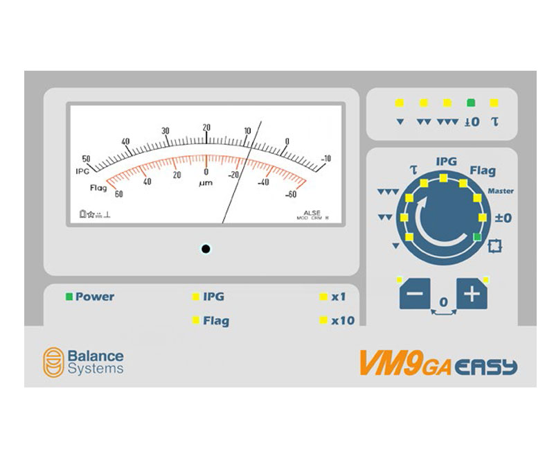 VM9-GA Easy - Systems Process control - Balance Systems