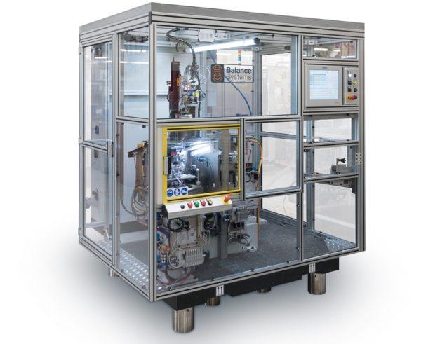 BMK4A-B - Semi-Automatic Balancing Machine   Balance Systems